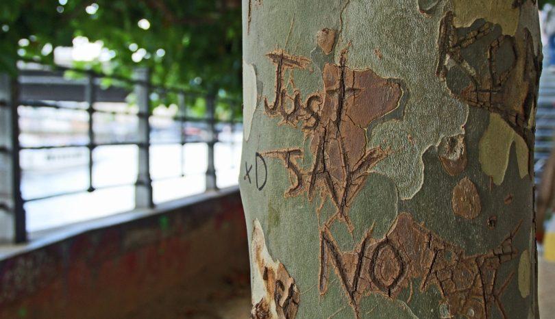 Just say 'no.'