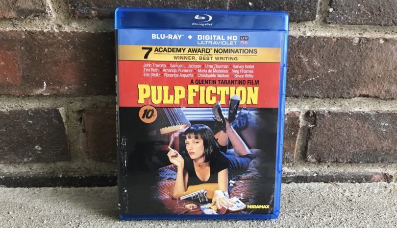 I finally watched Pulp Fiction.
